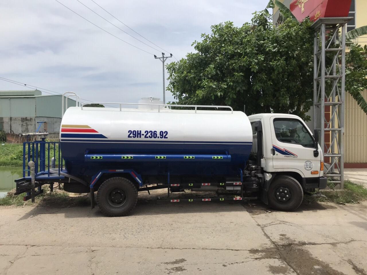 bán nước sạch bằng xe tec tại hà nội